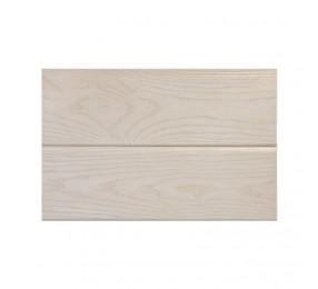 Шпонированные панели, ясень белый лак, 200(192) х3000 х10 мм