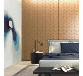 Панели декоративные, стеновые «Ромб», вишня
