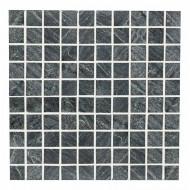 Мозаика из талькохлорита 300х300х10 мм (квадрат)