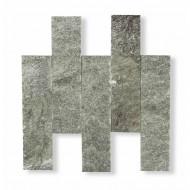 Плитка талькохлорит, «рваный камень» 150х50х20