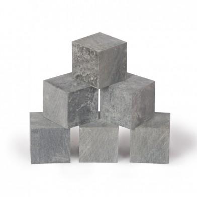 Талькохлорит кубики, коробка 18 кг