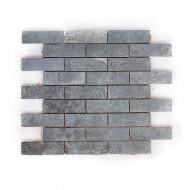 Мозаика из талькохлорита 300х300х10 мм (прямоугольник)