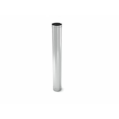 Труба дымохода одинарная СДС d=115 мм l=500 мм