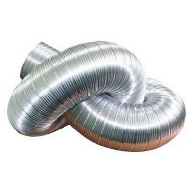 Воздуховод гибкий гофрированный, 100 мм, длина до 3 м