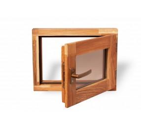 Оконный блок из ДУБА, универсальный, стеклопакет, с фурнитурой