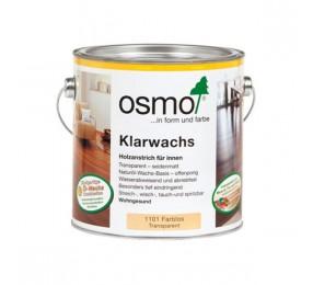Масло c воском Osmo Klarwachs для твердых пород, 1101 бесцветное