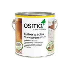 Цветное прозрачное масло Osmo Dekorwachs Transparente 3111 (Белое)