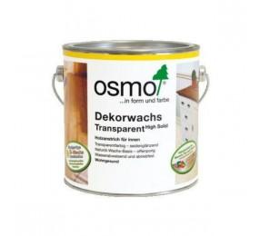 Цветное прозрачное масло Osmo Dekorwachs Transparente 3103 (Дуб светлый)