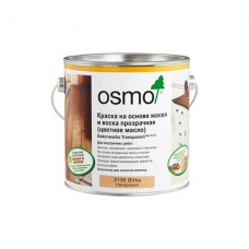 Цветное прозрачное масло Osmo Dekorwachs Transparente 3136 (Береза)