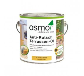 Масло для терасс Osmo Anti-Rutsch Terrassen-Öl c антискользящим эффектом, 430 бесцветное