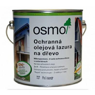 Защитное масло-лазурь для древесины OSMO HOLZSCHUTZ OL-LASUR 727 (Палисандр)