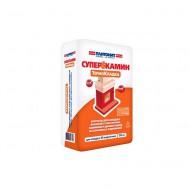 Раствор кладочный ПЛИТОНИТ СуперКамин ТермоКладка 20 кг