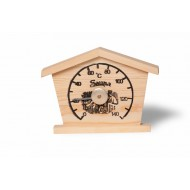 Термометр Soul Sauna Домик, сосна