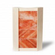 Абажур из гималайской соли и осины