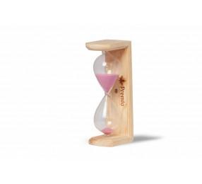 Часы песочные «Колба», сосна