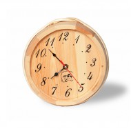 Часы стрелочные Soul Sauna для сауны, сосна