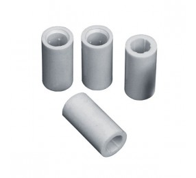 Комплект втулка-изолятор керамические 30х12 мм (6 шт. + 6 саморезов)