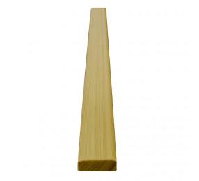 Нащельник лиственница 13х28 мм, кат. Прима