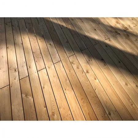 Террасная доска лиственница 30 мм, гладкая, АВ