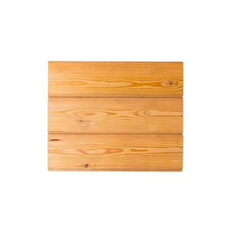 Имитация бруса, лиственница, 20х145 (130) сорт АВ