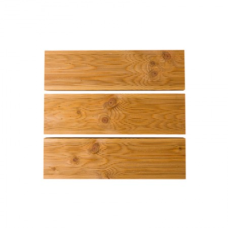Террасная доска лиственница 30 мм, вельвет, АВ