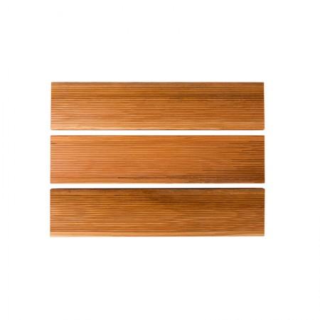 Террасная доска лиственница 30 мм, вельвет, Экстра бессучковая