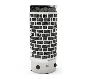 Sawo ARIES 9,0 кВт, пристенная электрическая каменка, встроенное управление, арт. ARI3-90NB-WL-P