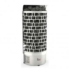 Sawo ARIES 6,0 кВт, пристенная электрическая каменка, встроенный блок мощности, арт. ARI3-60NI2-WL-P