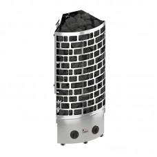 Sawo ARIES 7,5 кВт, угловая электрическая каменка, встроенное управление, арт. ARI3-75NB-CNR-P