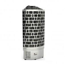Sawo ARIES 7,5 кВт, угловая электрическая каменка, встроенный блок мощности, арт. ARI3-75NI2-CNR-P