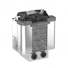 Sawo CUMULUS CML- 60NB электрическая каменка, вставка из талькохлорита