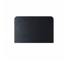 Лист притопочный, сталь, черный 400х600 мм