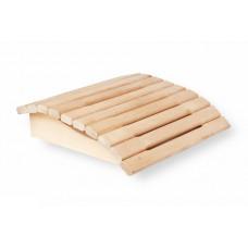 Подголовник для сауны жёсткий, большой (осина)