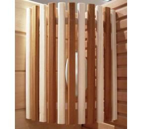 Абажур из осины и термоабаши, длина 40 см