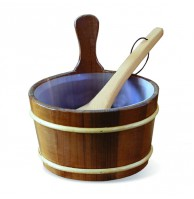 Набор Soul Sauna, термососна: шайка 4 л и ковш