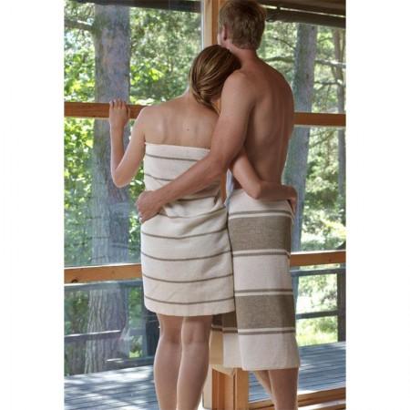 Юбка-полотенце LIITURAITA махровая 85 x 145 см, осветленный лен