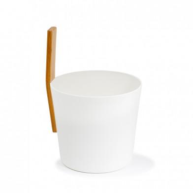 Шайка для сауны KOLO 3 (белая)