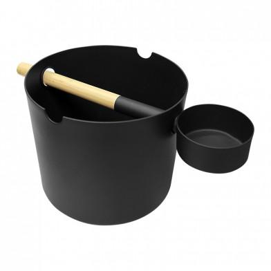 Набор для сауны KOLO (чёрный): шайка и ковш