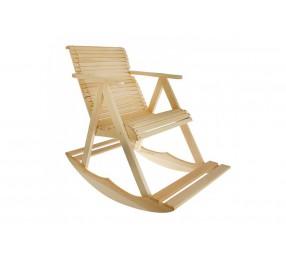Кресло-качалка из липы