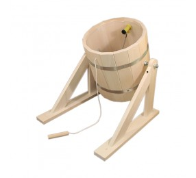 Обливное устройство из липы (с пластиковой вставкой), 18 л