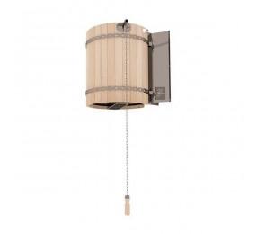 Обливное устройство ЛИВЕНЬ с деревянным обрамлением «сосна», 50 л