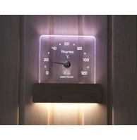 Термометр NIKKARIEN с подсветкой квадратный, арт. 46303