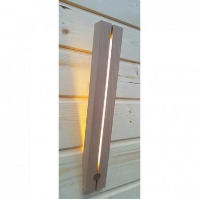 Светильник  NIKKARIEN «Факел» из термодревесины, арт. 46324