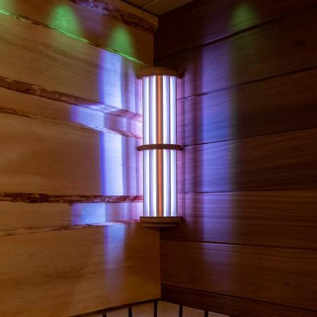 Светильник  NIKKARIEN LED54 RGB (осина), арт. 46311
