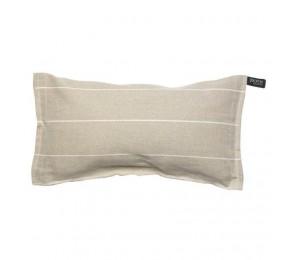 Льняная подушка для сауны и бани, цвет белый