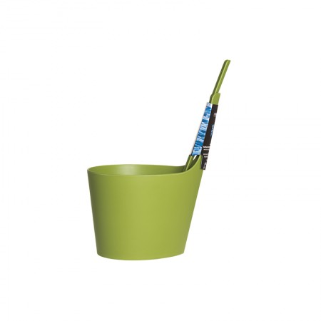 """Набор для сауны Rento: ведро с прямой ручкой и черпак """"мох"""" (зеленый), арт. 251414"""