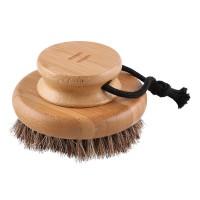 Щётка круглая для мытья Rento (бамбук)