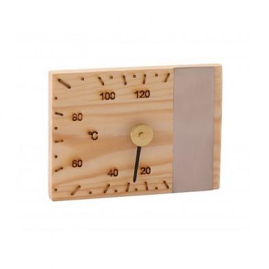 Термометр SAWO прямоугольный  95 - TED (кедр)