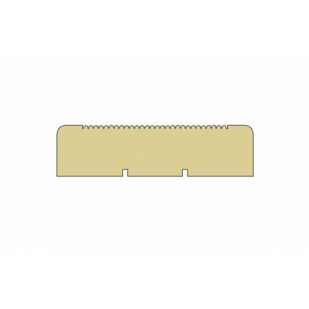 """Террасная доска лиственница 24х140 мм, """"мелкий вельвет"""", Прима, длина 4,0 м"""