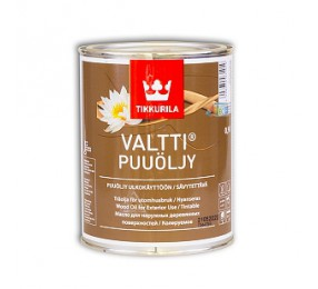 Tikkurila VALTTI (0,9л) бесцветное масло для террасной доски